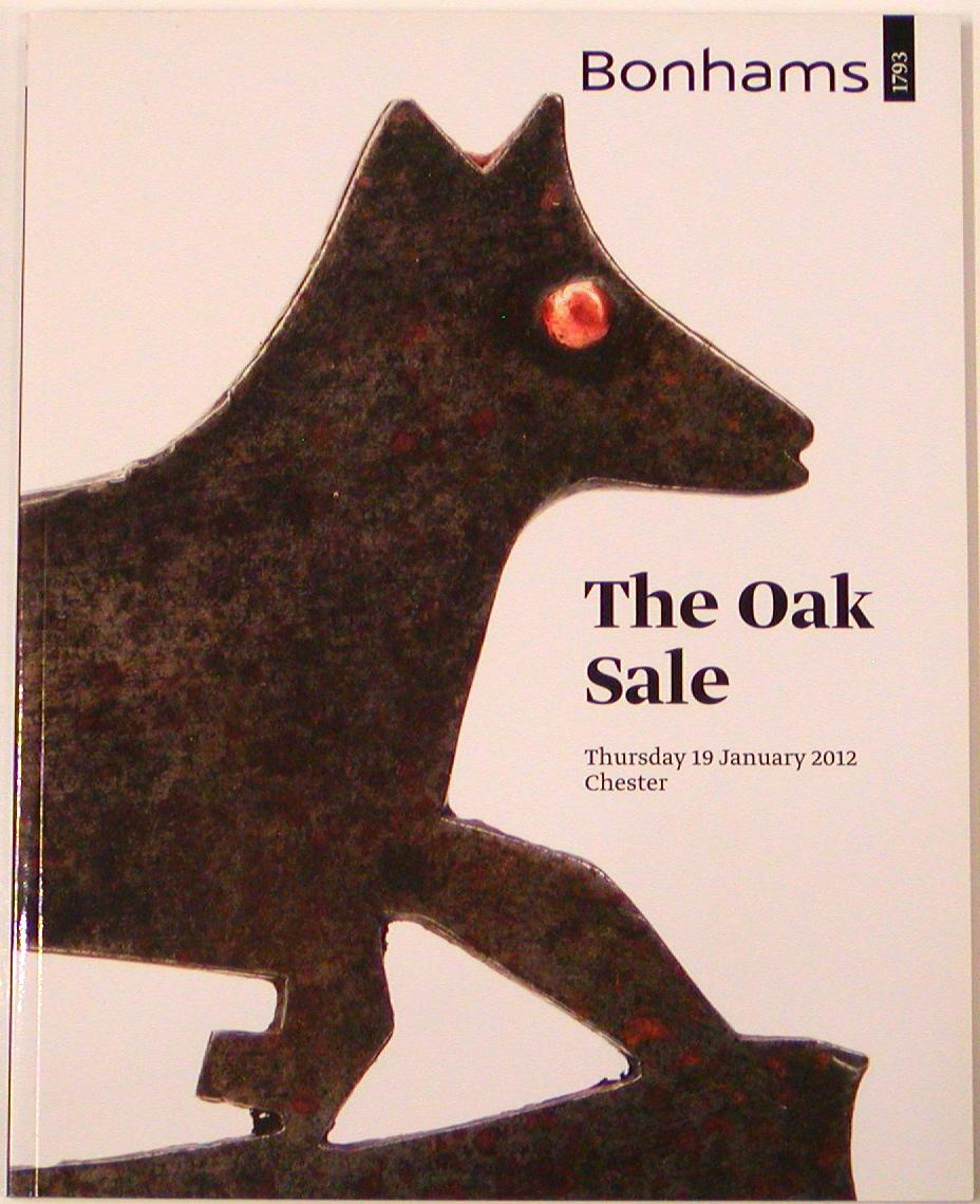 BC20120119: Bookshop: [2012] Bonhams Chester The Oak Sale