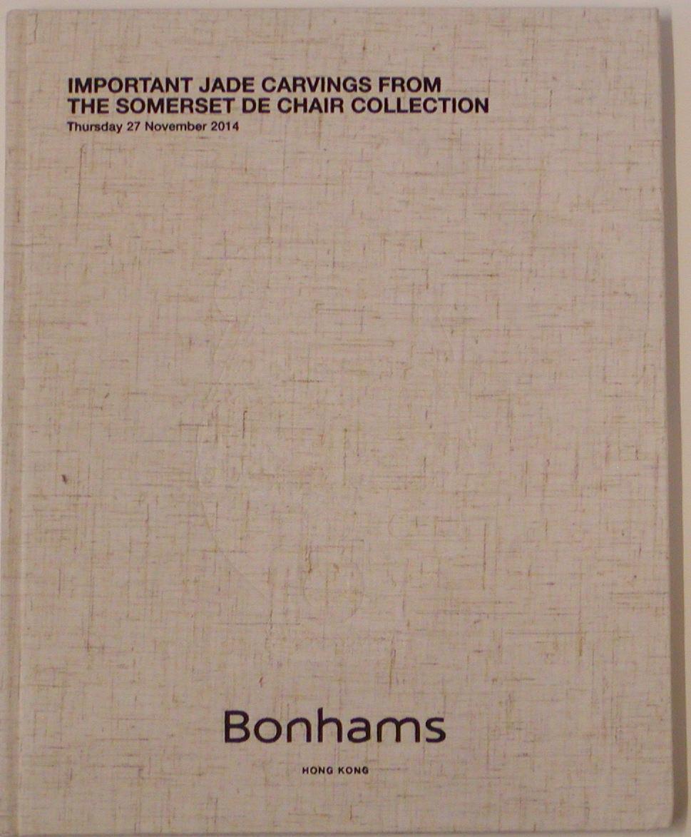 BHK20141126: Bookshop: [2014] Bonhams Hong Kong Important Jade Carvings