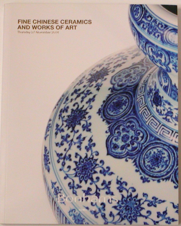 BHK20141128: Bookshop: [2014] Bonhams Hong Kong Fine Chinese Ceramics and works of Art