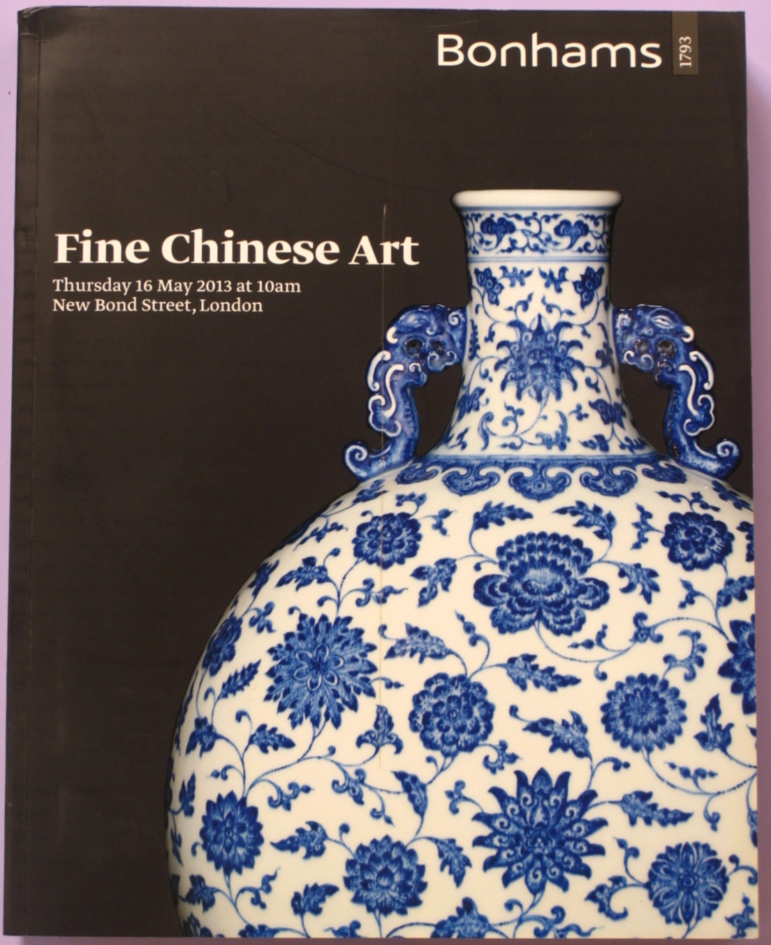 BL20130516: Bookshop: [2013] Bonhams london Fine Chinese Art