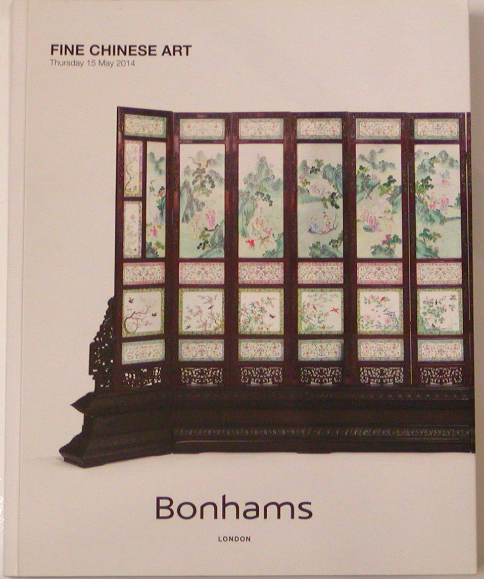 BL20140516: Bookshop: [2014] Bonhams London Fine Chinese Art
