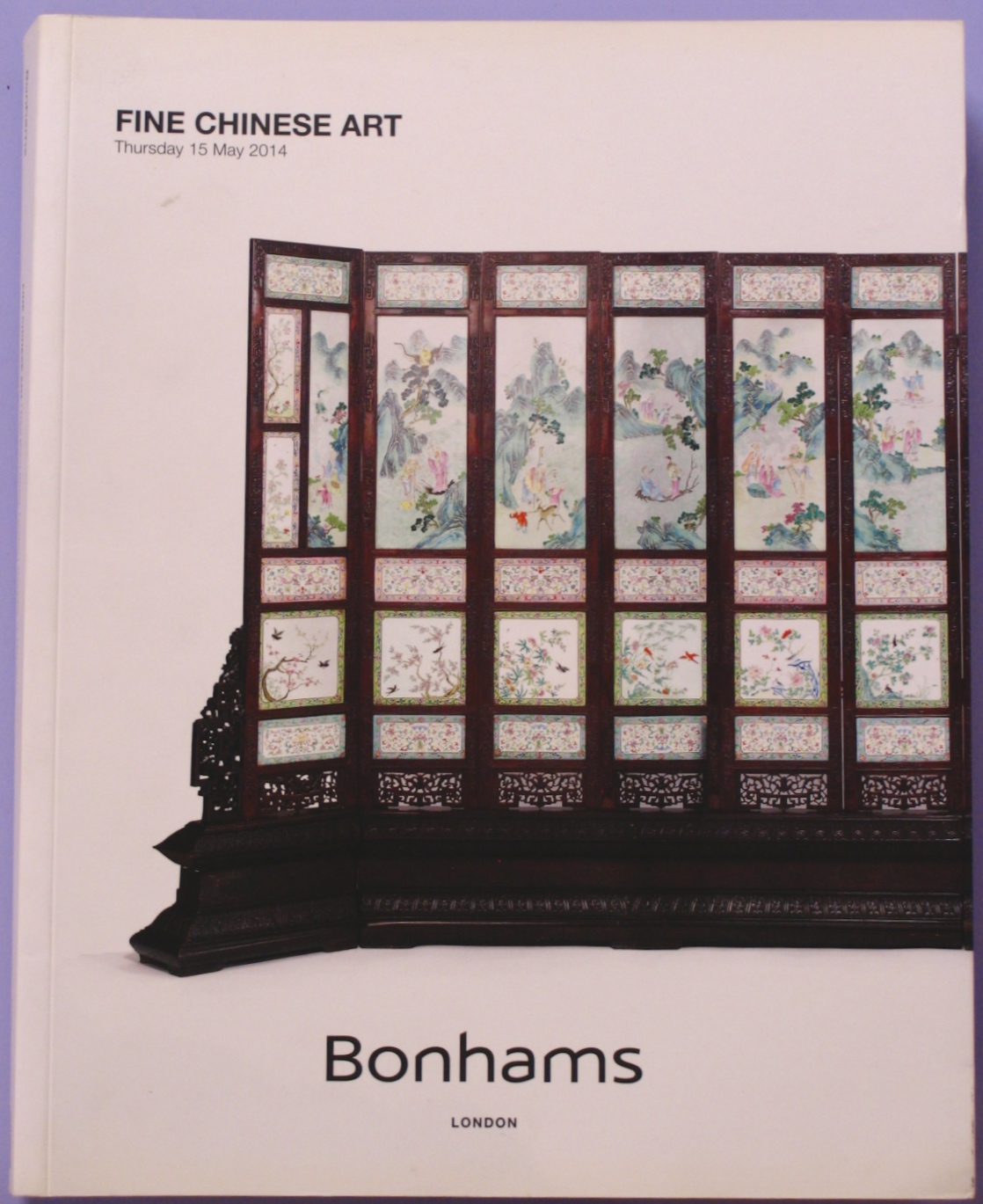 BL20140516B: Bookshop: [2014] Bonhams London Fine Chinese Art (second copy)