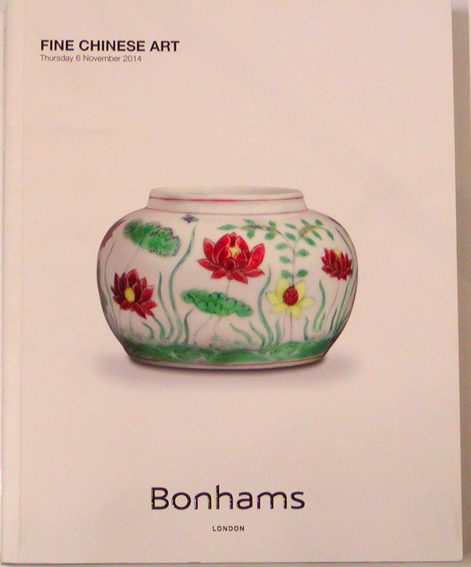 BL20141106: Bookshop: [2014] Bonhams London Fine Chinese Art