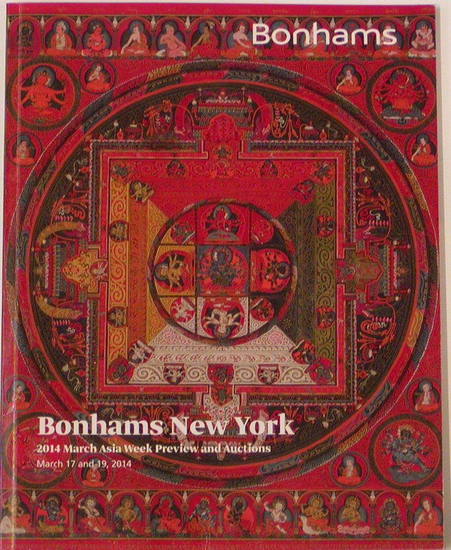BNY20140317: Bookshop: [2014] Bonhams New York 2014 March Asia Week
