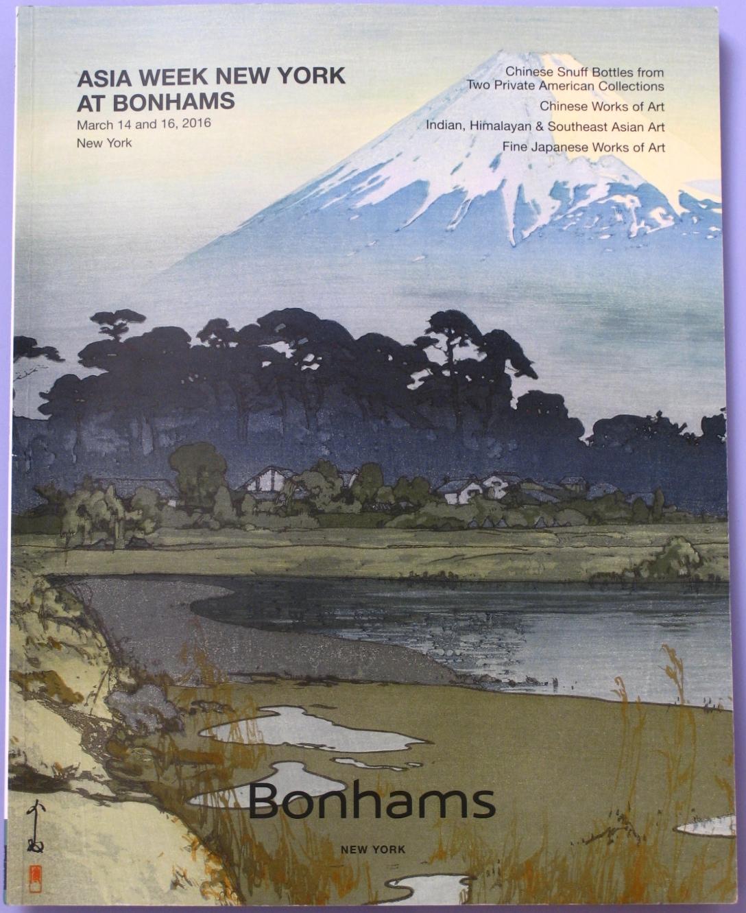 BNY20160314: Bookshop: [2016] Bonhams New York