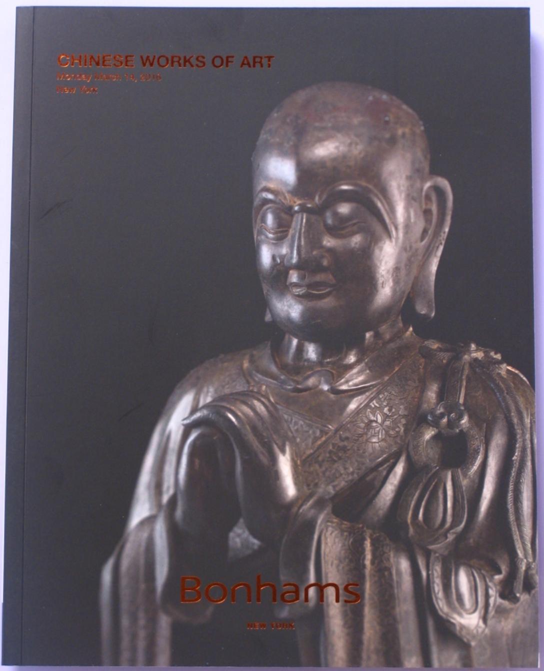 BNY20160315: Bookshop: [2016] Bonhams New York Chinese Works of Art