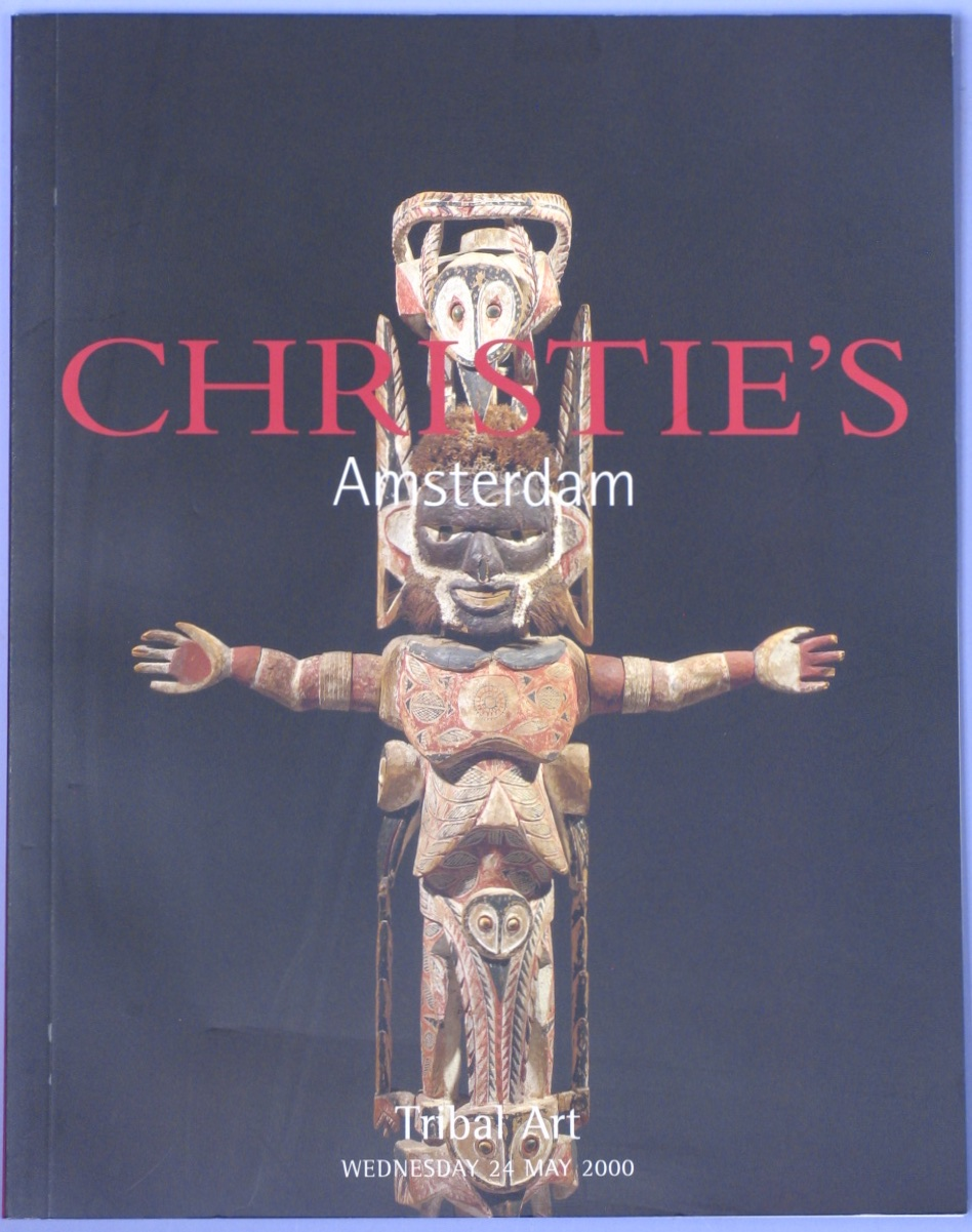 CA20000524: Bookshop: [2000] Tribal Art Including Oceanic Art from the Collection of Mrs. Nelly Van den Abbeele