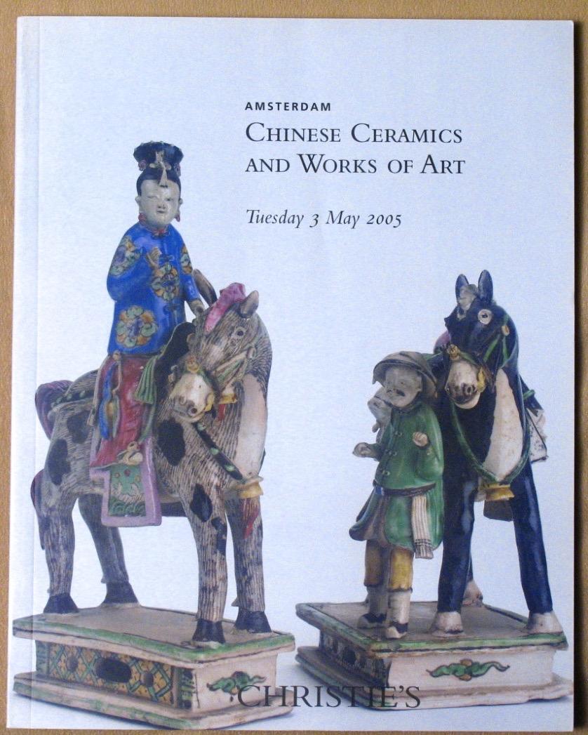 CA20050503: Bookshop: [2005] Christie's Amsterdam Chinese Ceramics and Works of Art