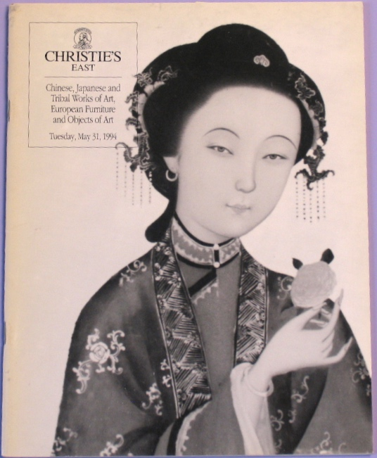 CE19940531: Bookshop: [1994] Chinese, Japanese and Tribal Works of Art, European Furniture and Objects of Art
