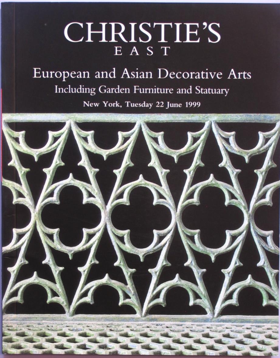 CE19990622: Bookshop: [1999] Christie's European and Asian Decorative Arts Including Garden Furniture and Statuary