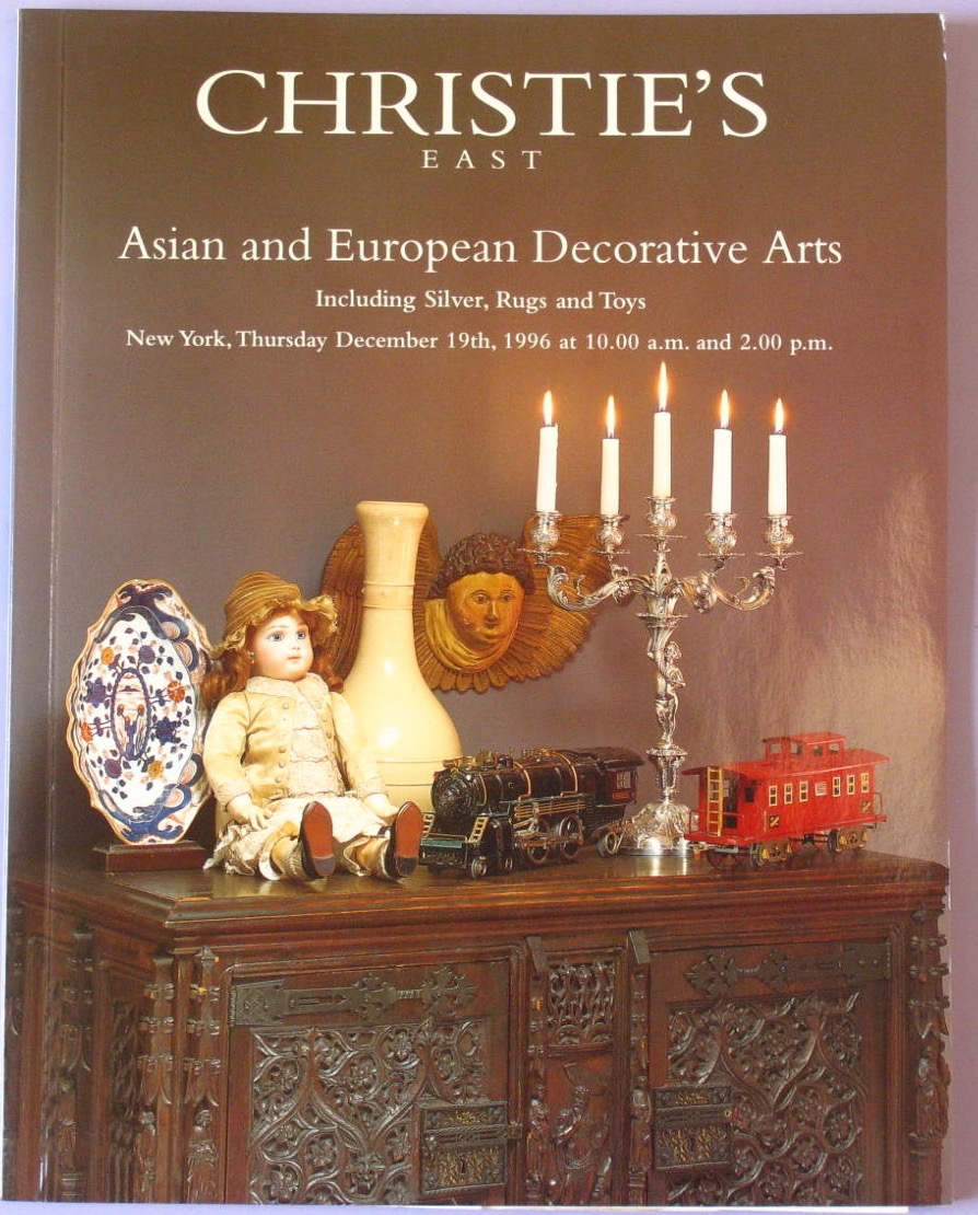 CE19961219: Bookshop: [1996] Asian and European Decorative Arts including Silver, Rugs and Toys