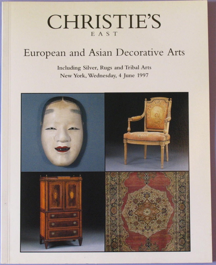 CE19970606: Bookshop: [1997] European and Asian Decorative Arts including Silver, Rugs and Tribal Arts