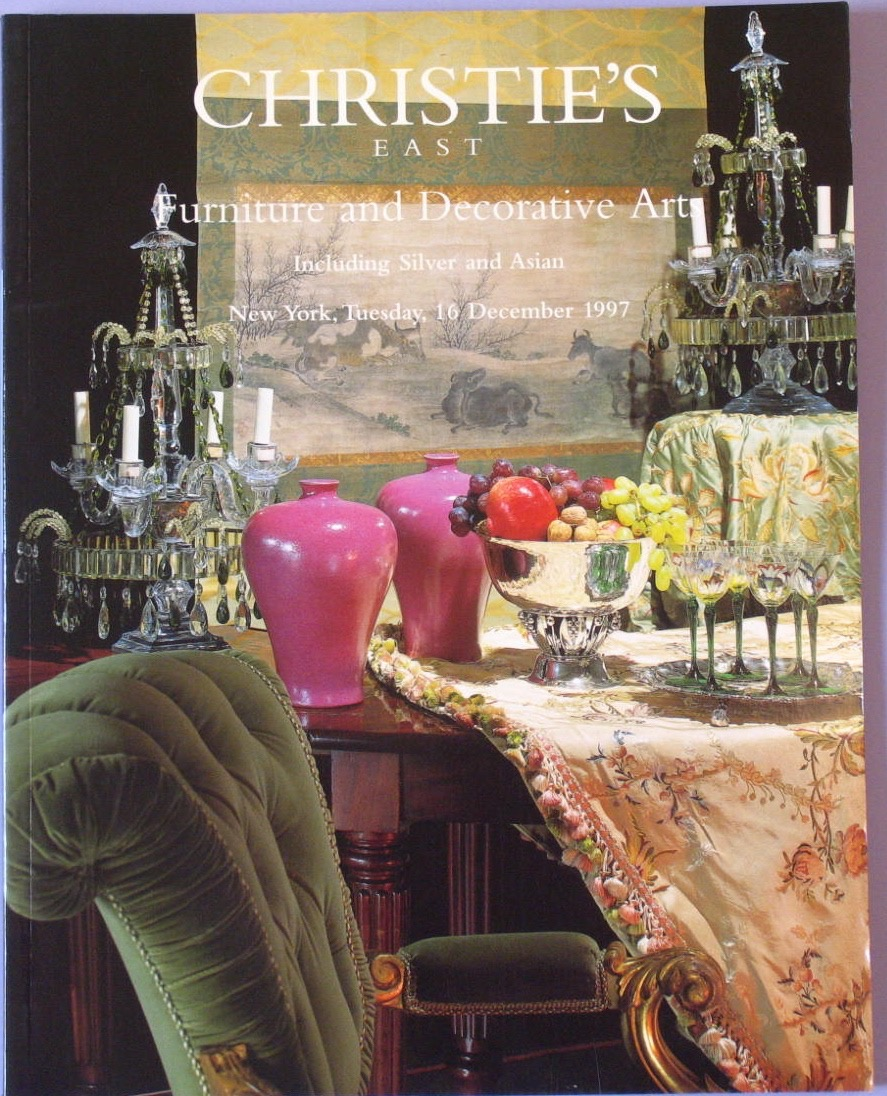 CE19971216: Bookshop: [1997] Furniture and Decorative Arts including Silver and Asian