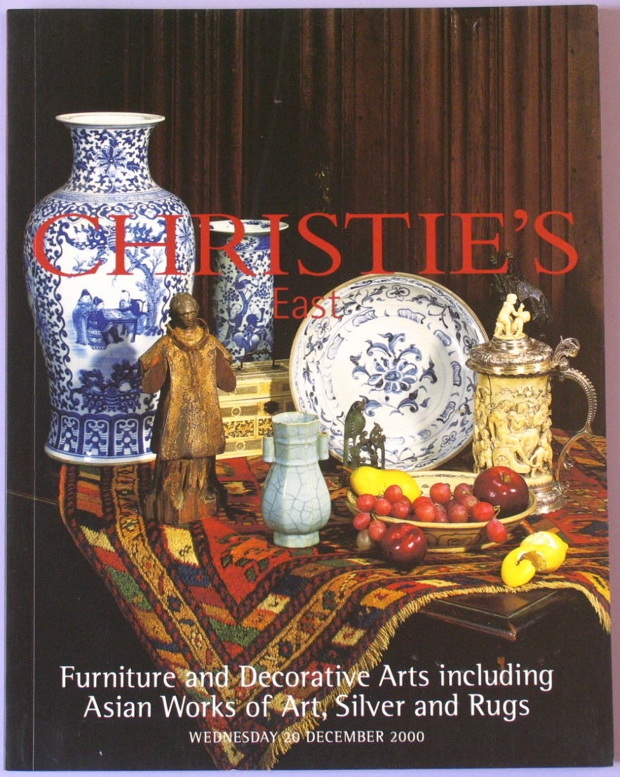 CE20001220: Bookshop: [2000] Furniture and Decorative Arts including Asian Works of Art, Silver and Rugs