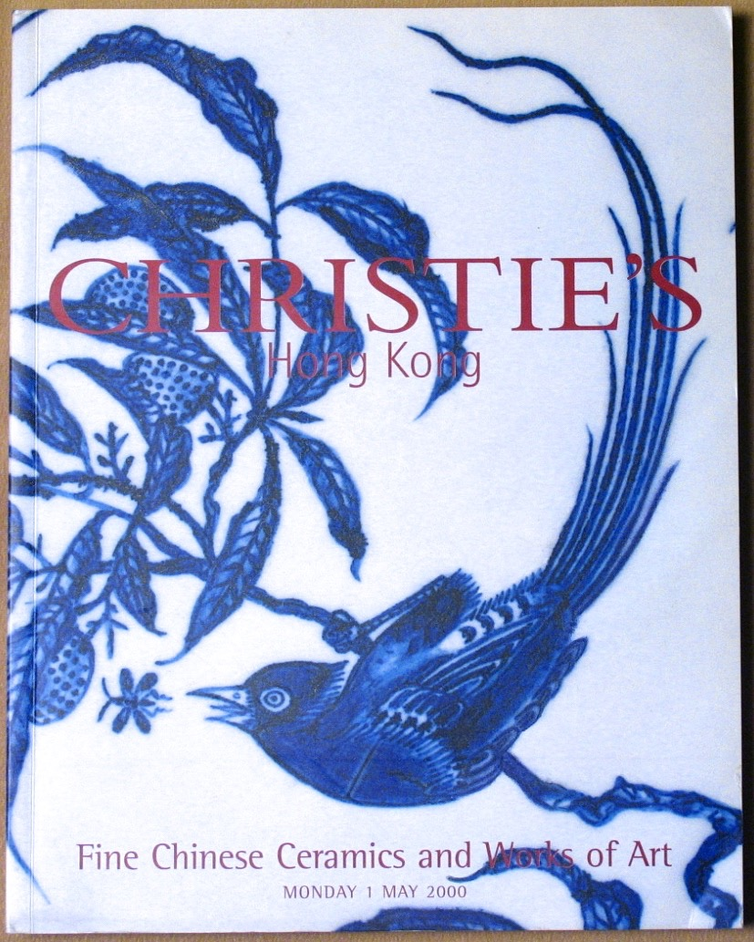 CHK20000501: Bookshop: [2000] Christie's Hong Kong Fine Chinese Ceramics and Works of Art