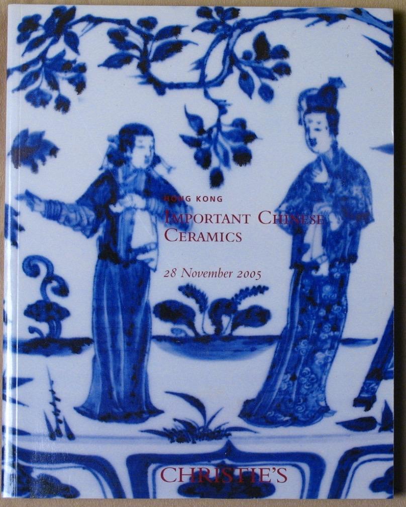 CHK20051128: Bookshop: [2005] Christie's Hong Kong Important Chinese Ceramics