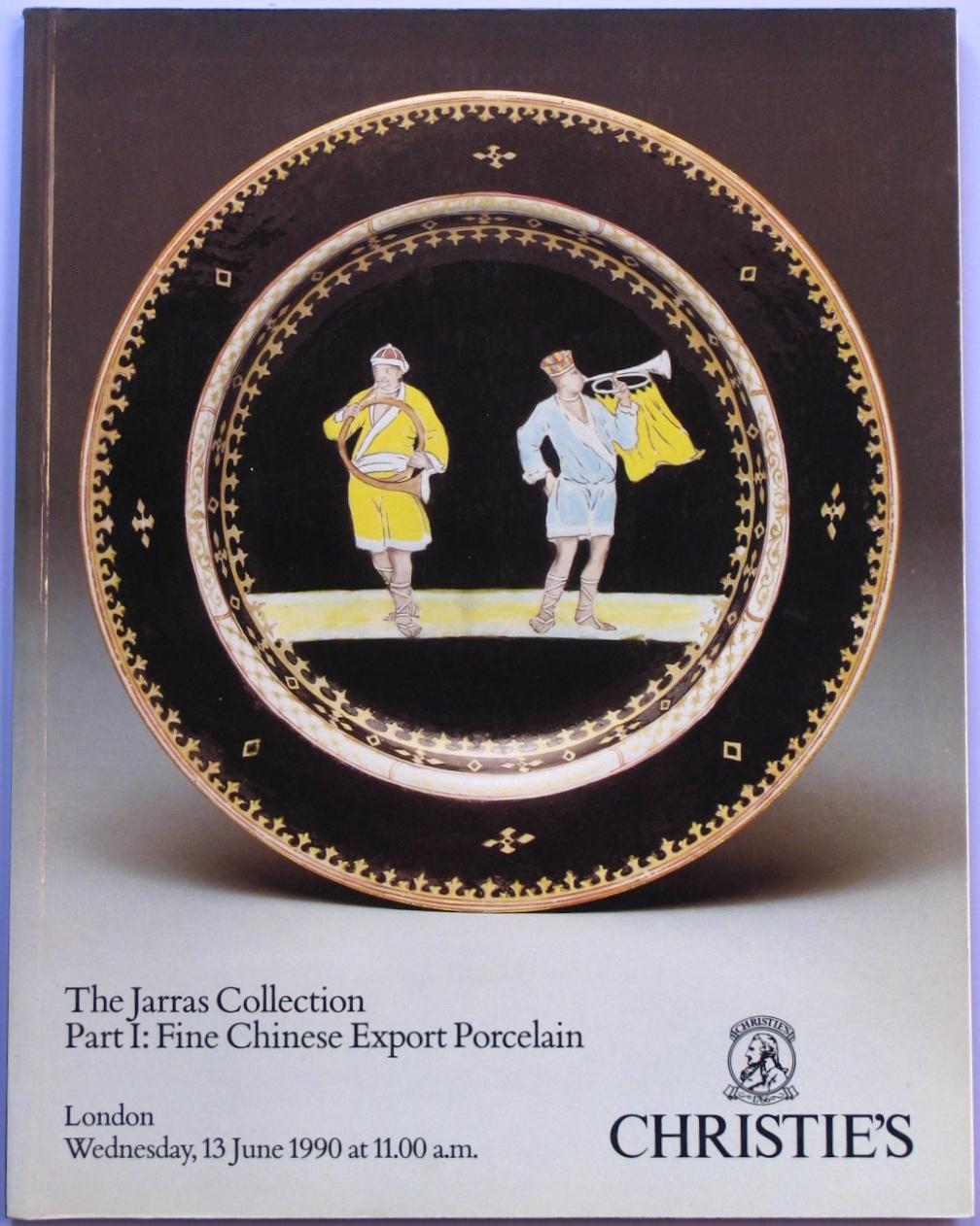 CL19900613: Bookshop: [1990] Christie's The Jarras Colllection Part I