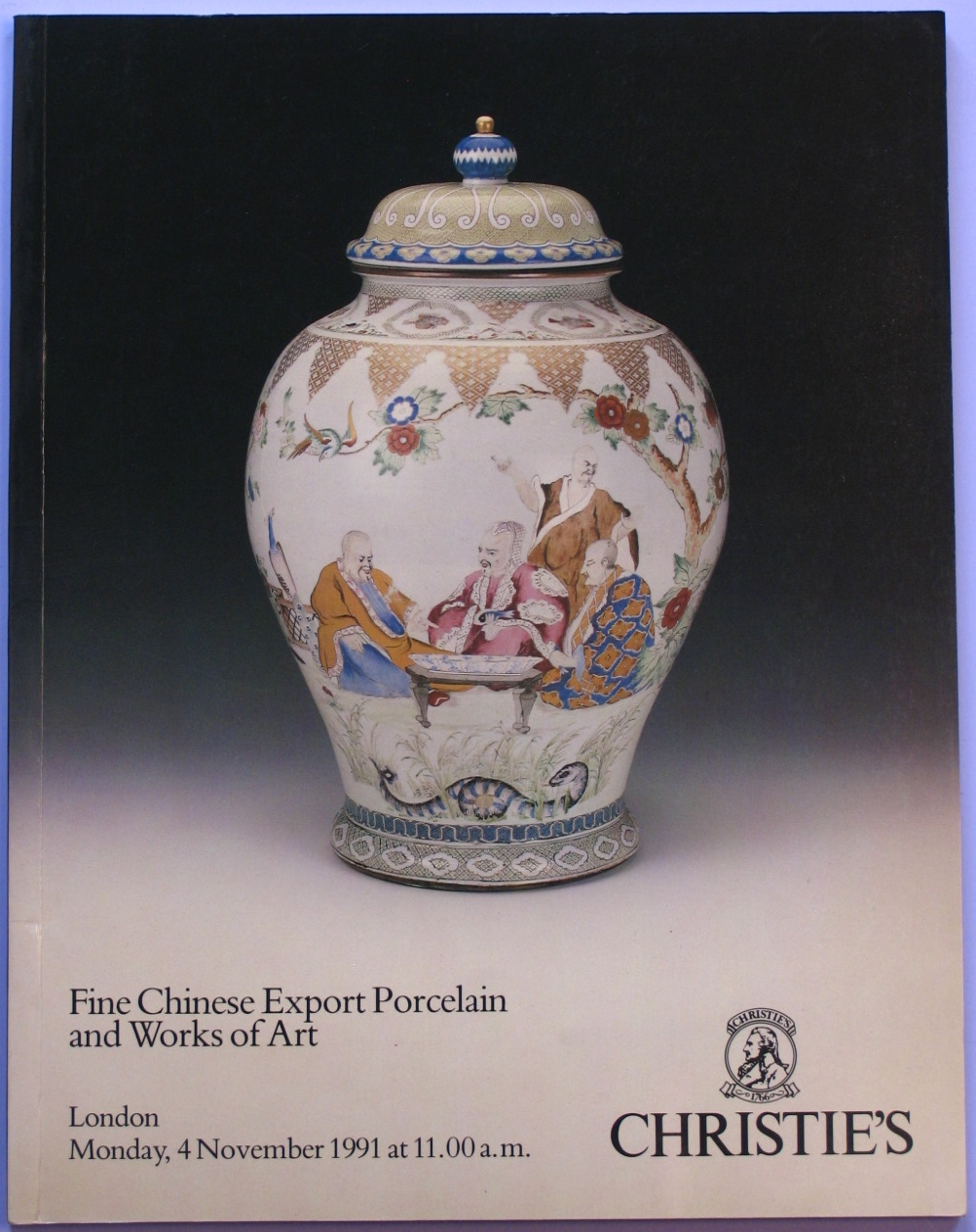 CL19911104: Bookshop: [1991] Chrisitie's Fine Chinese Export Porcelain and Works of Art