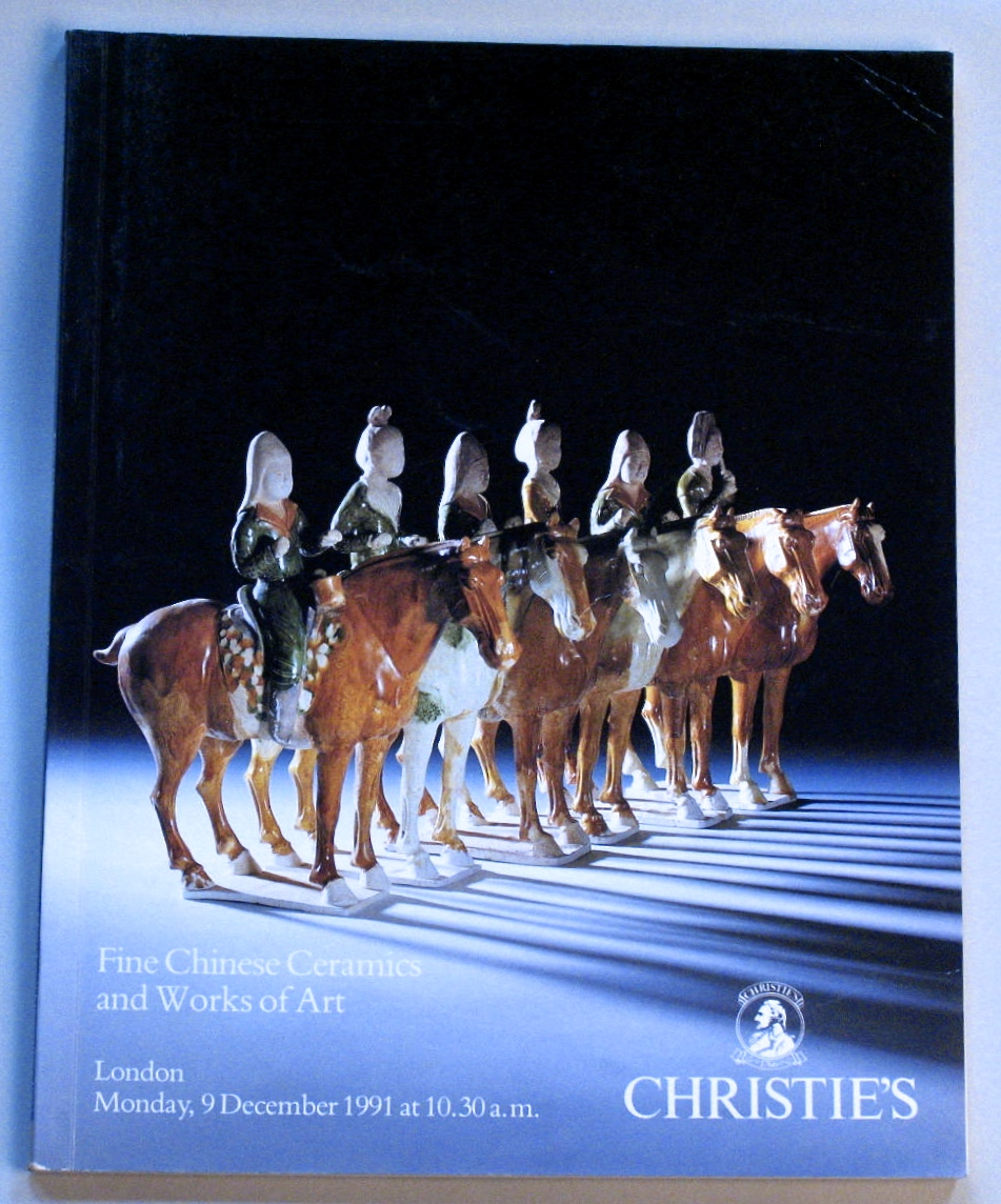 CL19911209: Bookshop: [1991] Christies london Fine chinese ceramics and works of art
