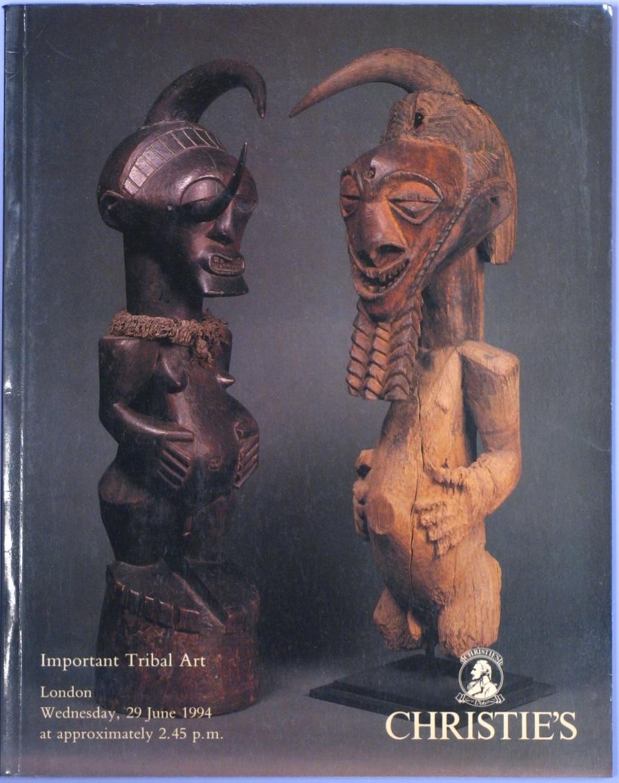 CL19940630: Bookshop: [1994] Important Tribal Art