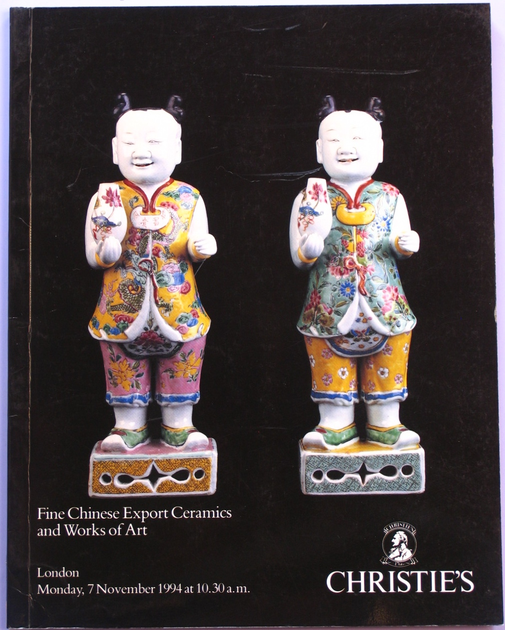 CL19941107: Bookshop: [1994] Christie's Fine Chinese Export Ceramics and Works of Art