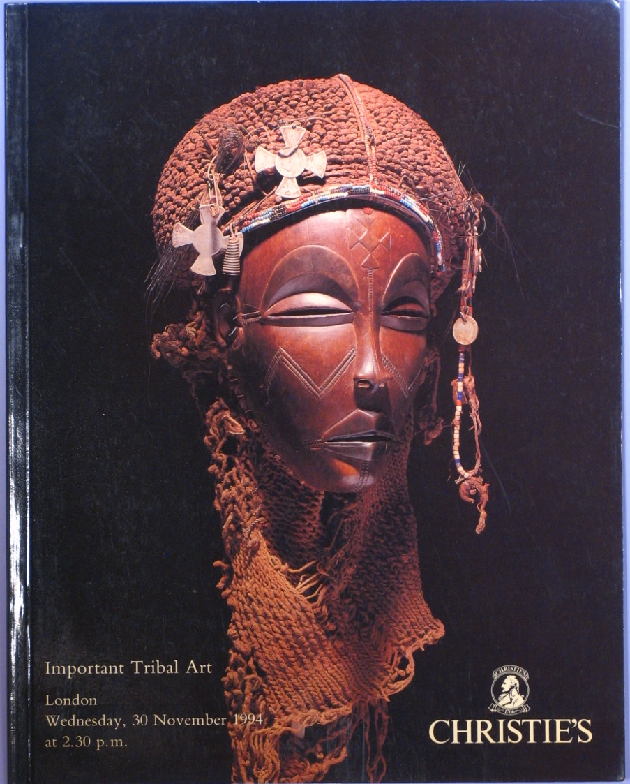 CL19941130: Bookshop: [1994] Important Tribal Art