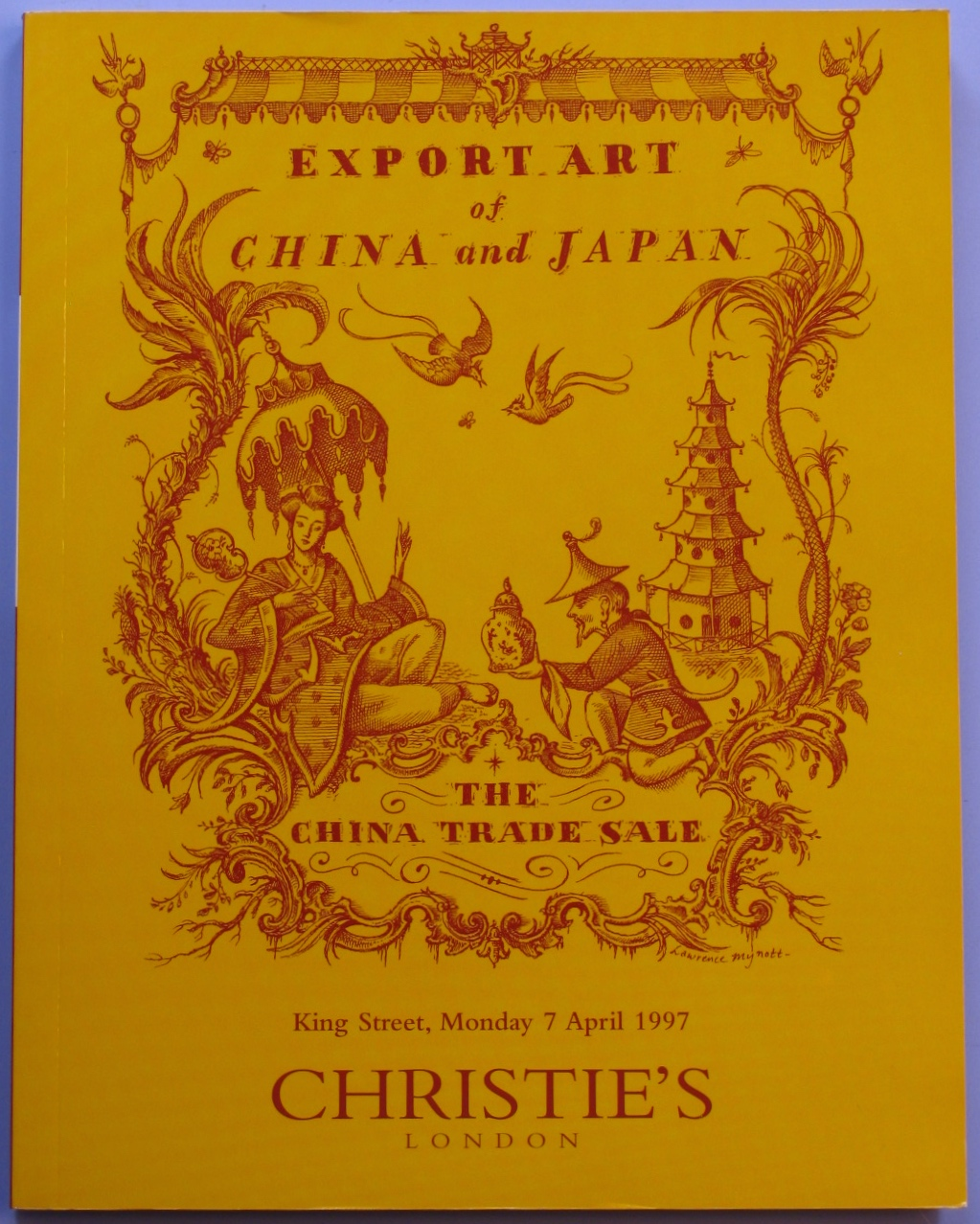 CL19970407: Bookshop: [1997] Christie's Export Art of China and Japan