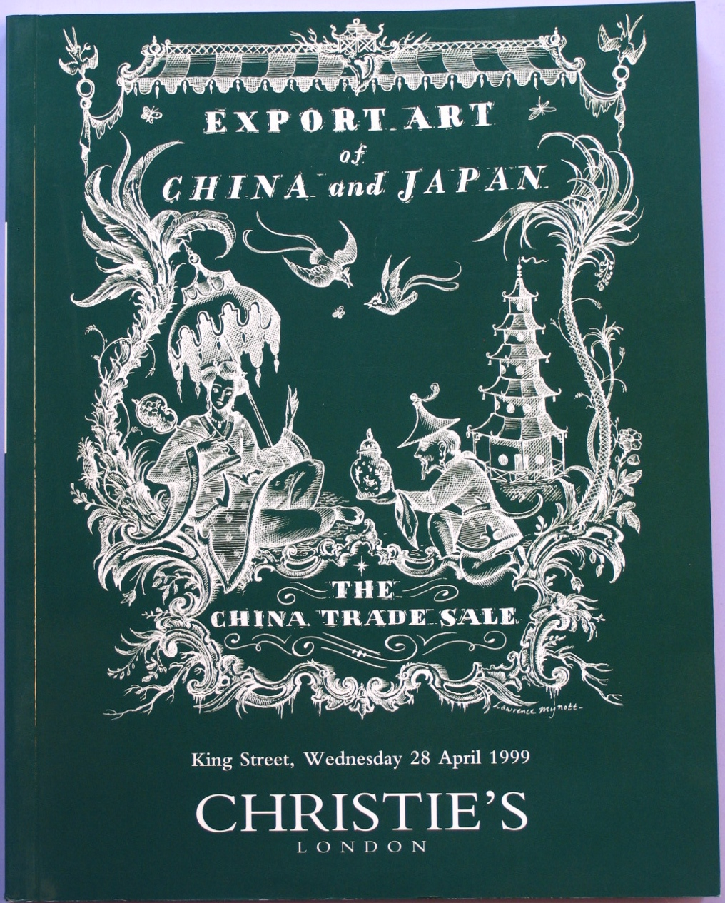 CL19990428: Bookshop: [1999] Christie's Export Art of China and Japan