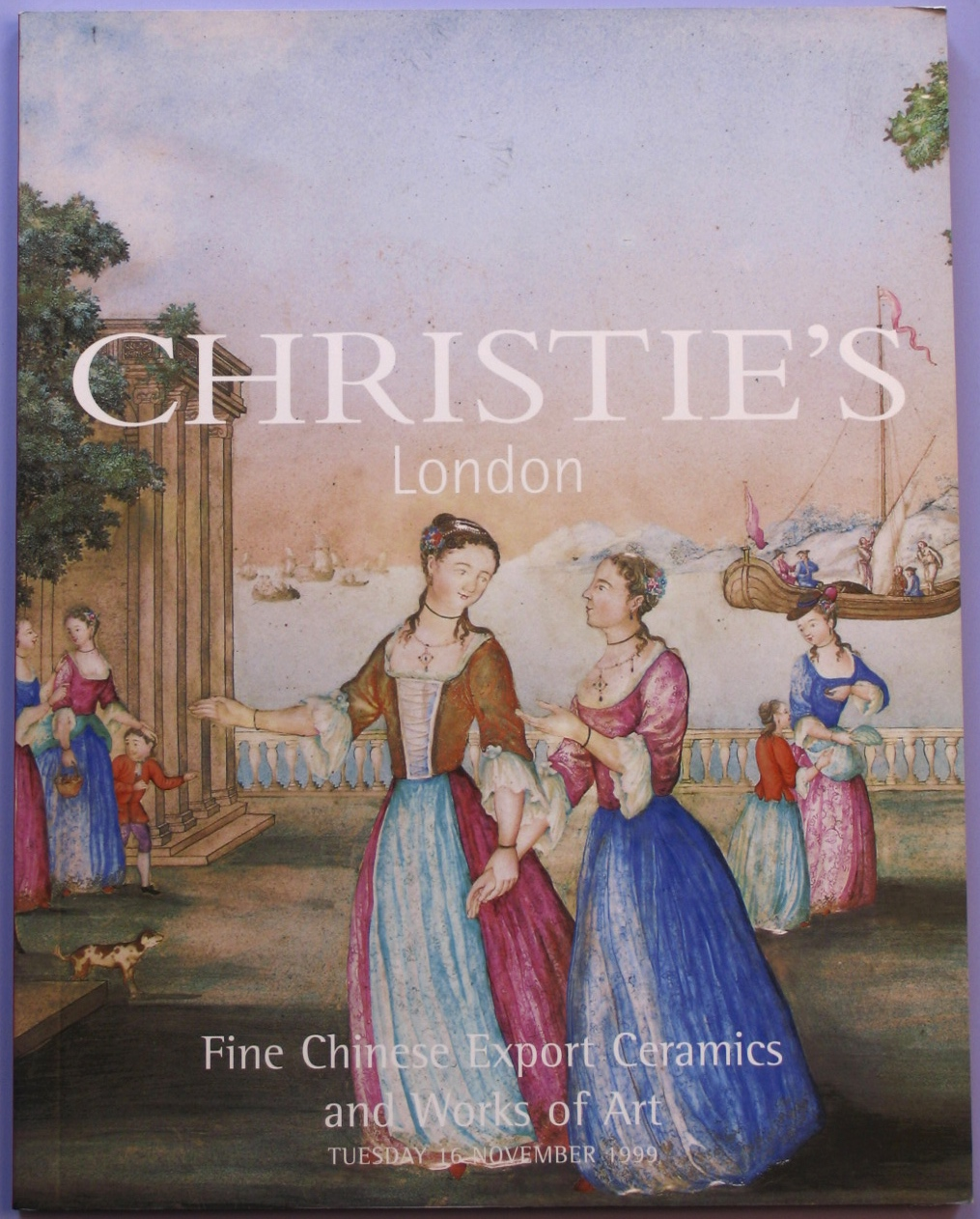 CL19991117: Bookshop: [1999] Chrisitie's Fine Chinese Export Ceramics and Works of Art