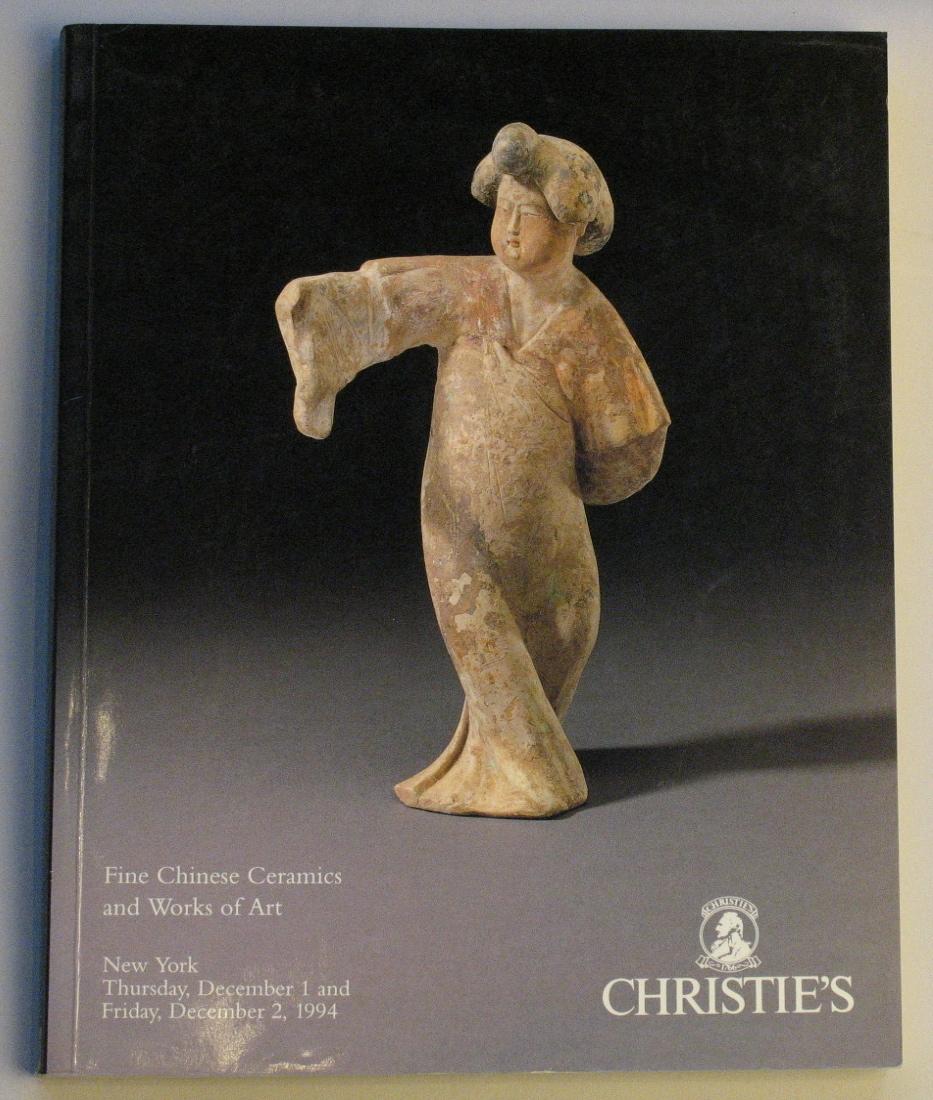 CNY19941202: Bookshop: [1994] Christies New york Fine chinese ceramics and works of art