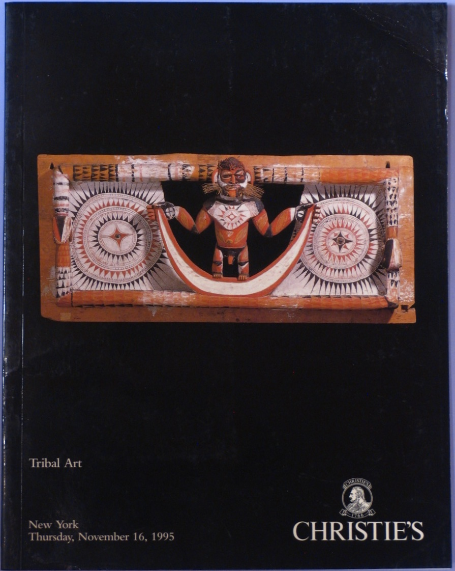 CNY19951116: Bookshop: [1995] Tribal Art