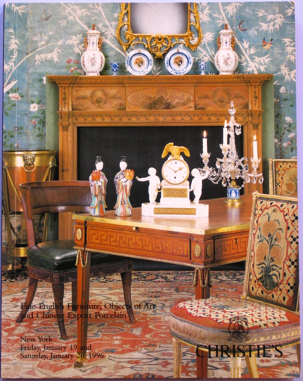 CNY19960119: Bookshop: [1996] Christie's Fine English Furniture, objects of Art and Chinese Export Porcelain