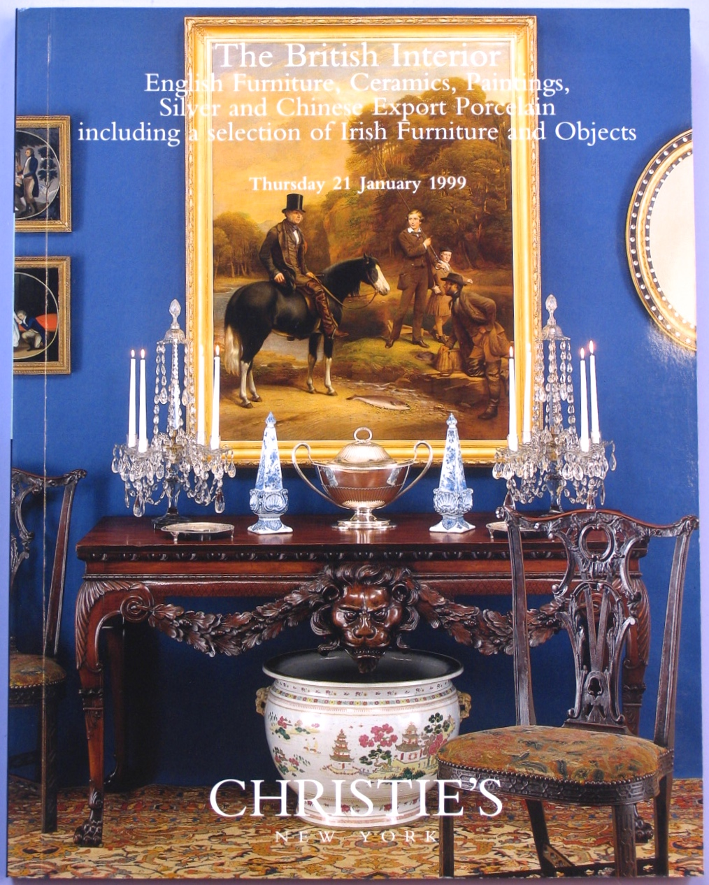 CNY19990121: Bookshop: [1999] Christie's The British Interior