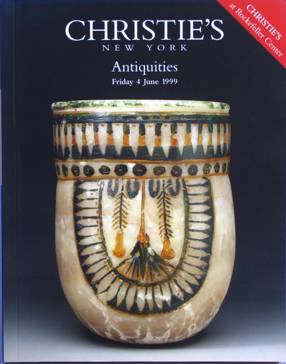 CNY19990604: Bookshop: [1999] Christie's Antiquities
