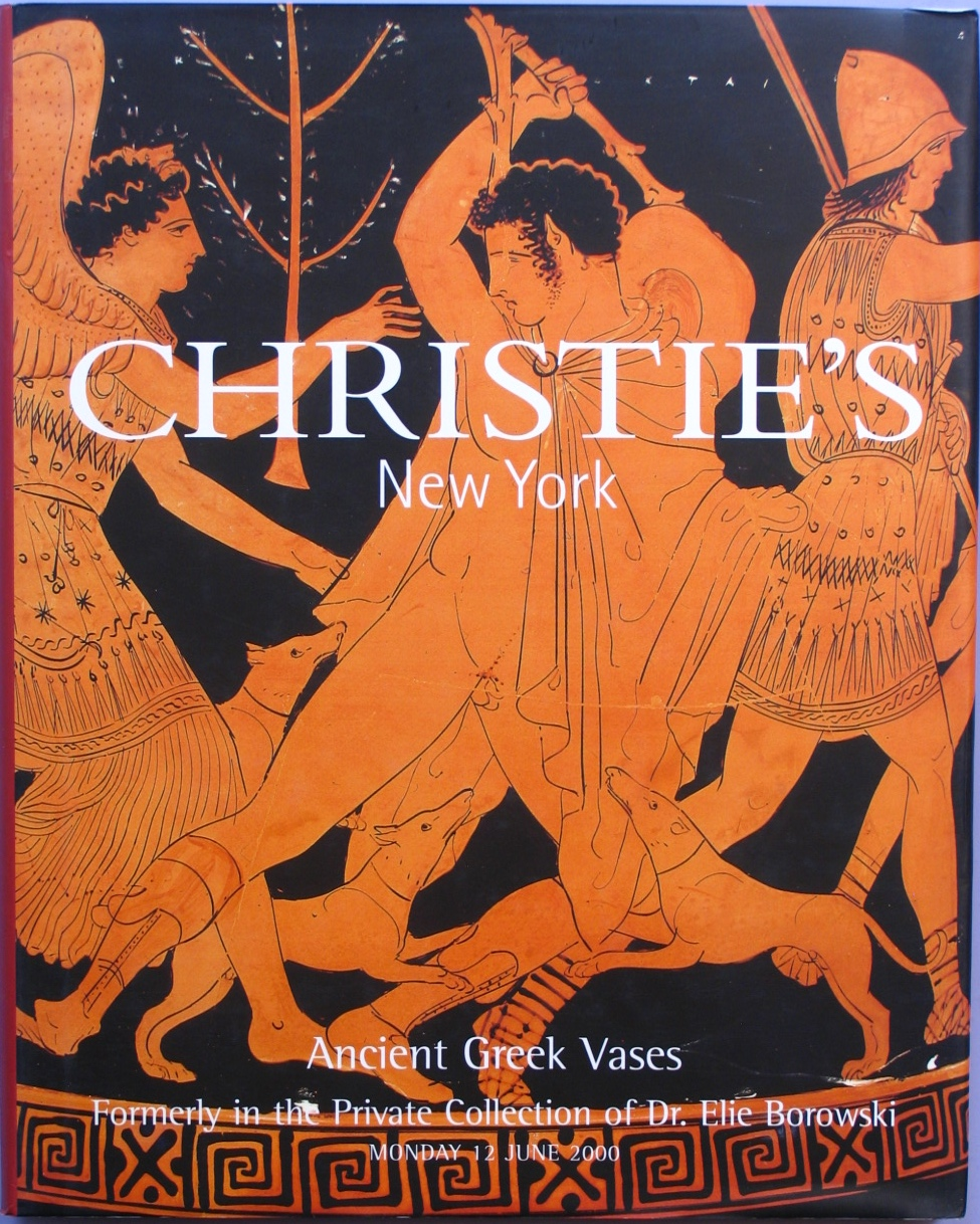 CNY20000612: Bookshop: [2000] Christie's Ancient Greek Vases