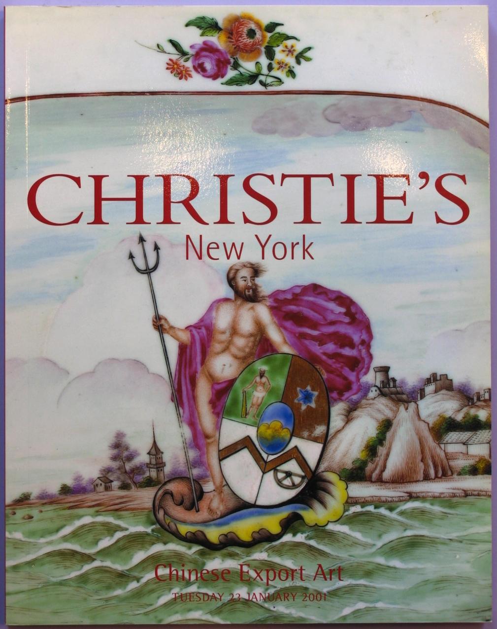 CNY20010123: Bookshop: [2001] Christie's Chinese Export Art