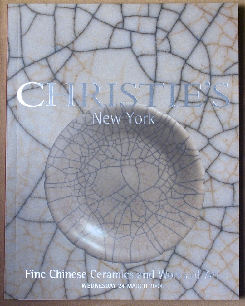 CNY20040324: Bookshop: [2004] Christie's New York Fine Chinese Ceramics and Works of Art