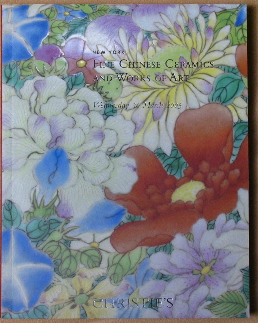 CNY20050330: Bookshop: [2005] Christie's New York Fine Chinese Ceramics and Works of Art
