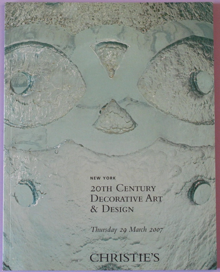 CNY20070329: Bookshop: [2007] 20th Century Decorative Art & Design