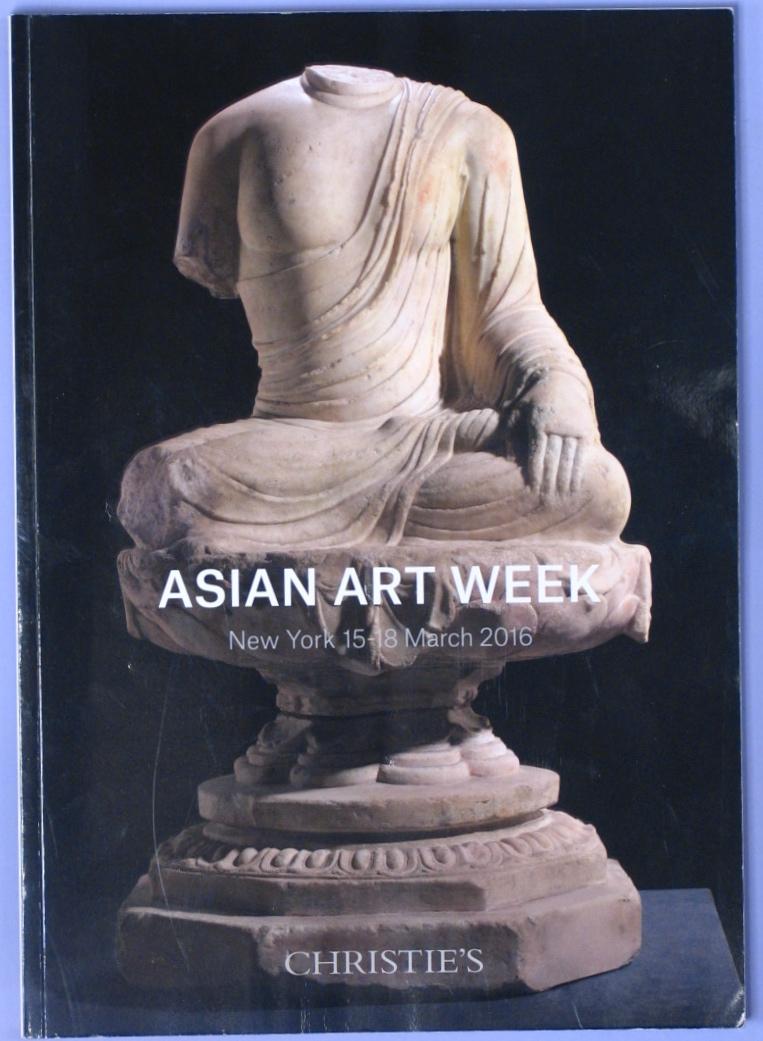 CNY20160314: Bookshop: [2016] Asian Art Week (Gallery Guide):