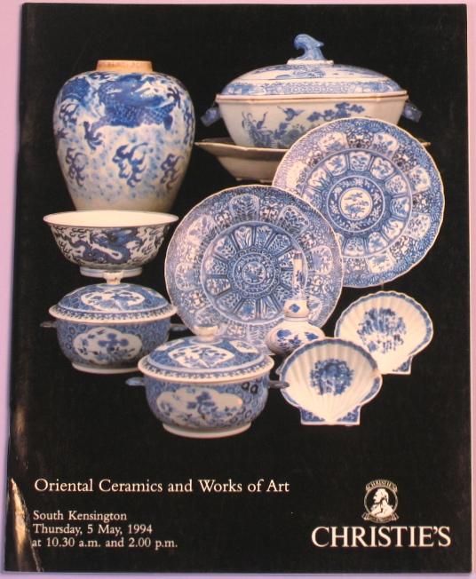CSK19940505: Bookshop: [1994] Oriental Ceramics and Works of Art