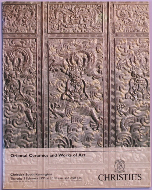 CSK19950202: Bookshop: [1995] Oriental Ceramics and Works of Art