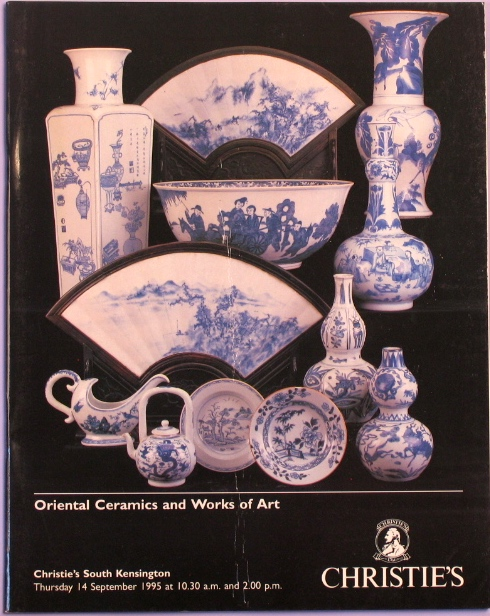 CSK19950914: Bookshop: [1995] Oriental Ceramics and Works of Art