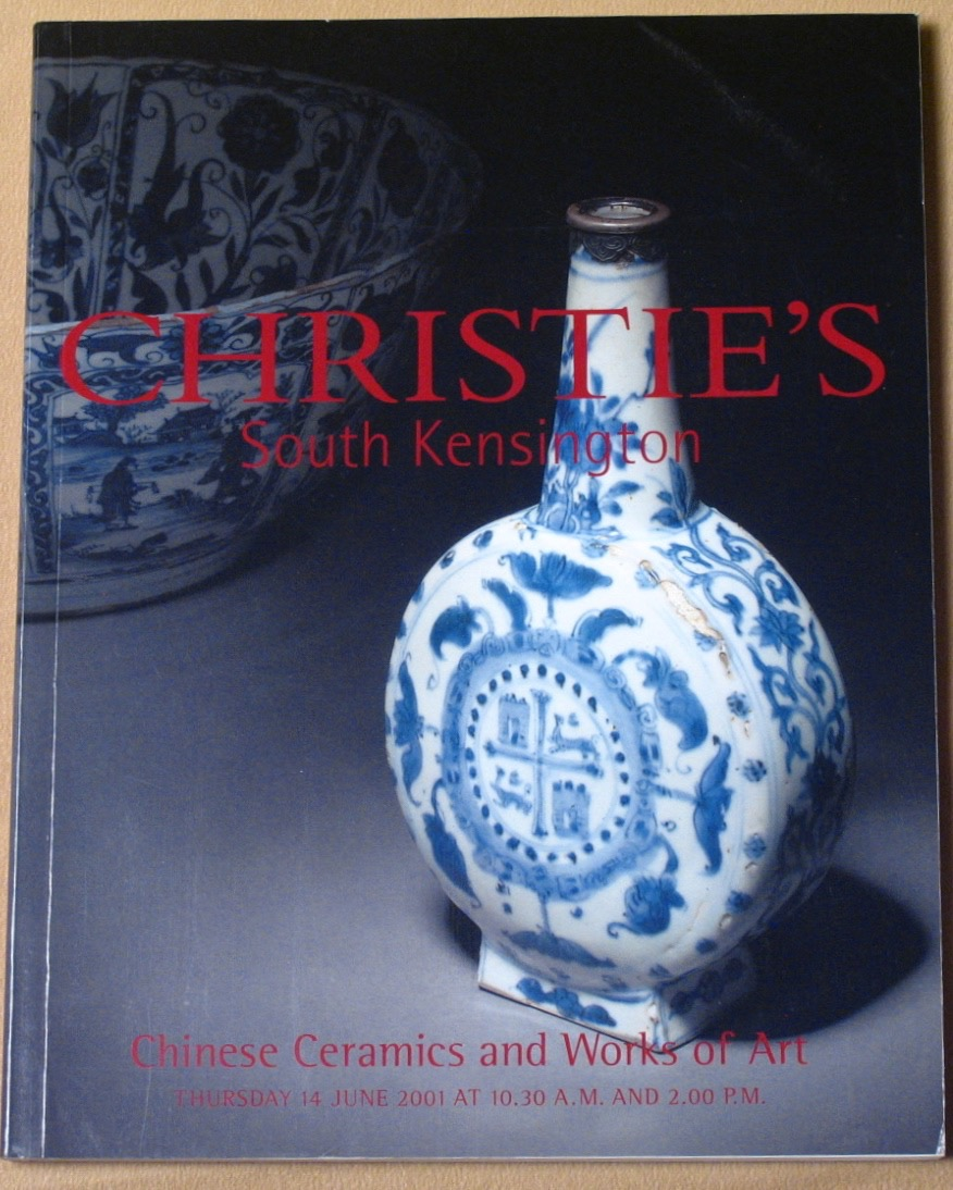 CSK20010614: Bookshop: [2001] Christie's South Kensington Chinese Ceramics and Works of Art