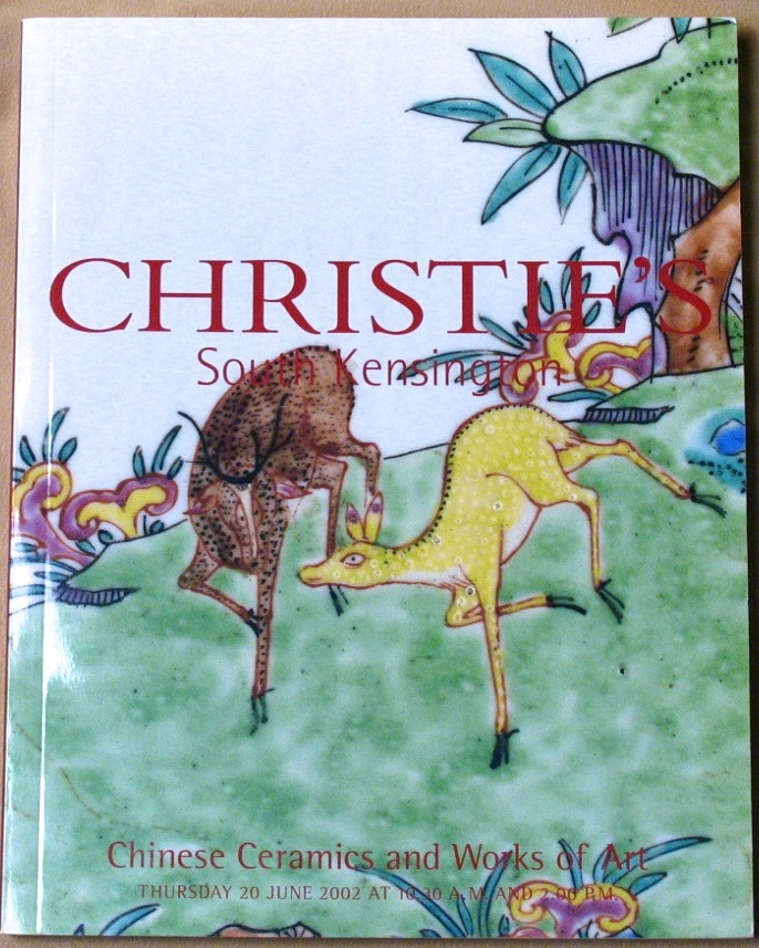 CSK20020620: Bookshop: [2002] Christie's South Kensington Chinese Ceramics and Works of Art