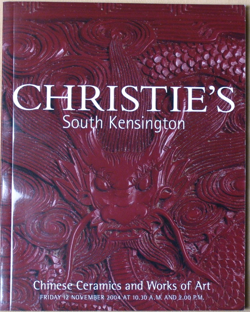 CSK20041112: Bookshop: [2004] Christie's South Kensington Chinese Ceramics and Works of Art