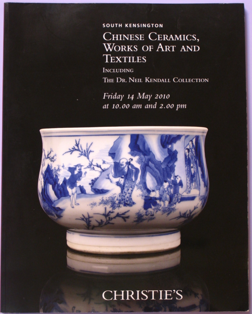 CSK20100514: Bookshop: [2010] Christie's South Kensington Chinese Ceramics, Works of Art and Textiles