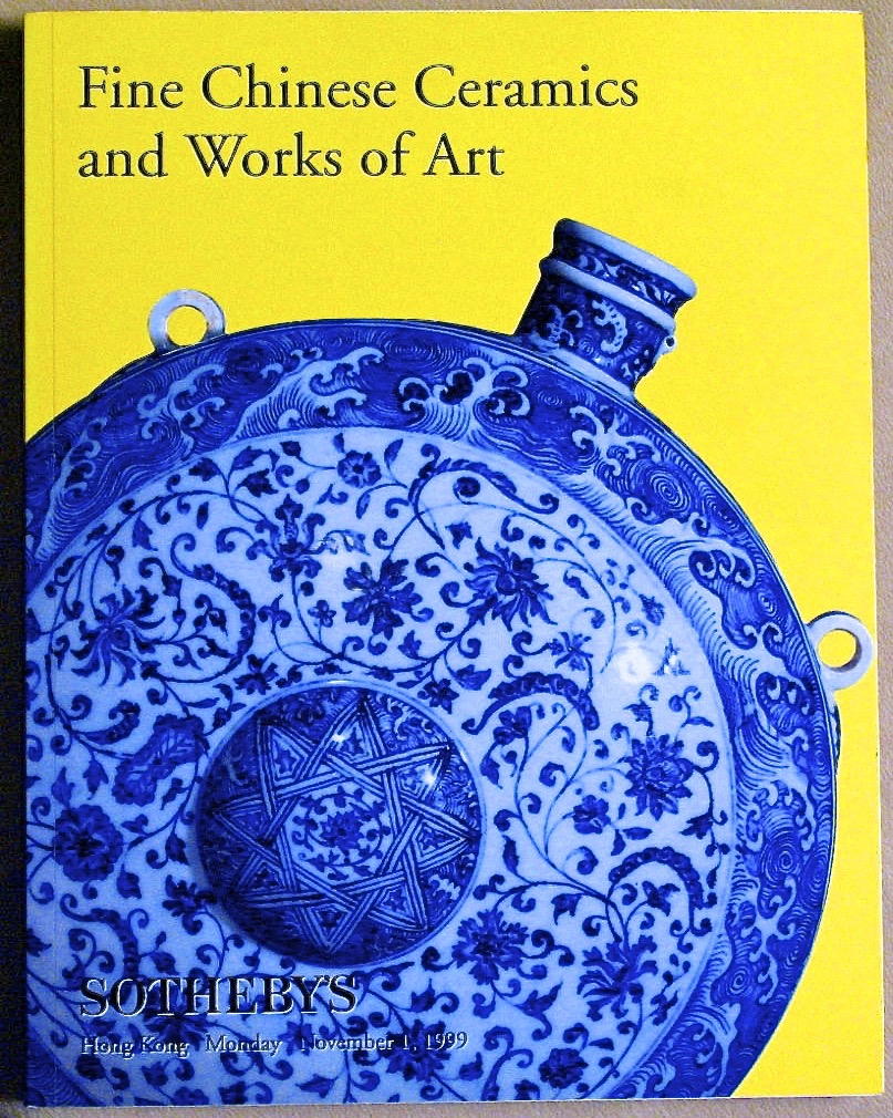 SHK19991101: Bookshop: [1999] Sotheby's Fine Chinese Ceramics and Works of Art