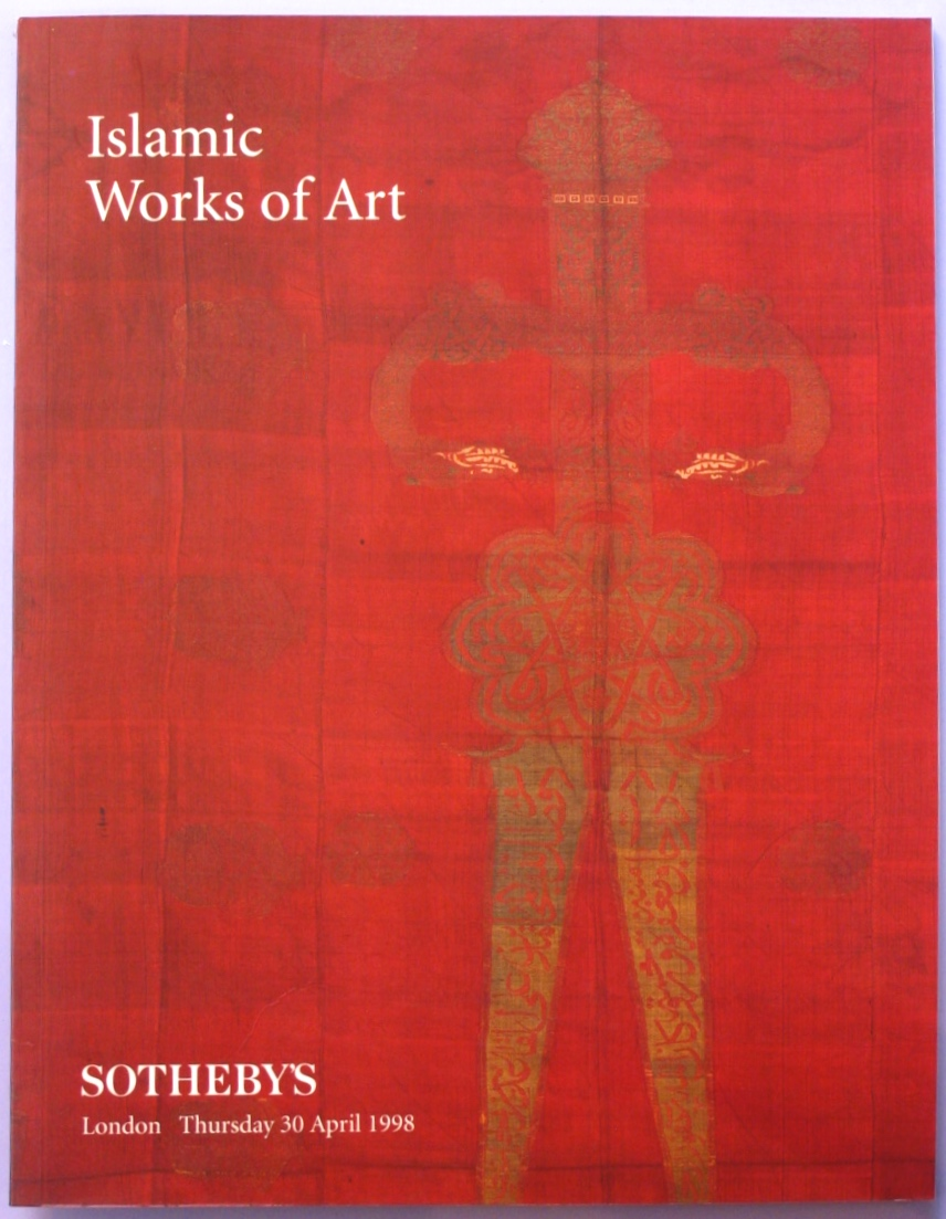 SL19980430: Bookshop: [1998] Sotheby's London Islamic Works of Art
