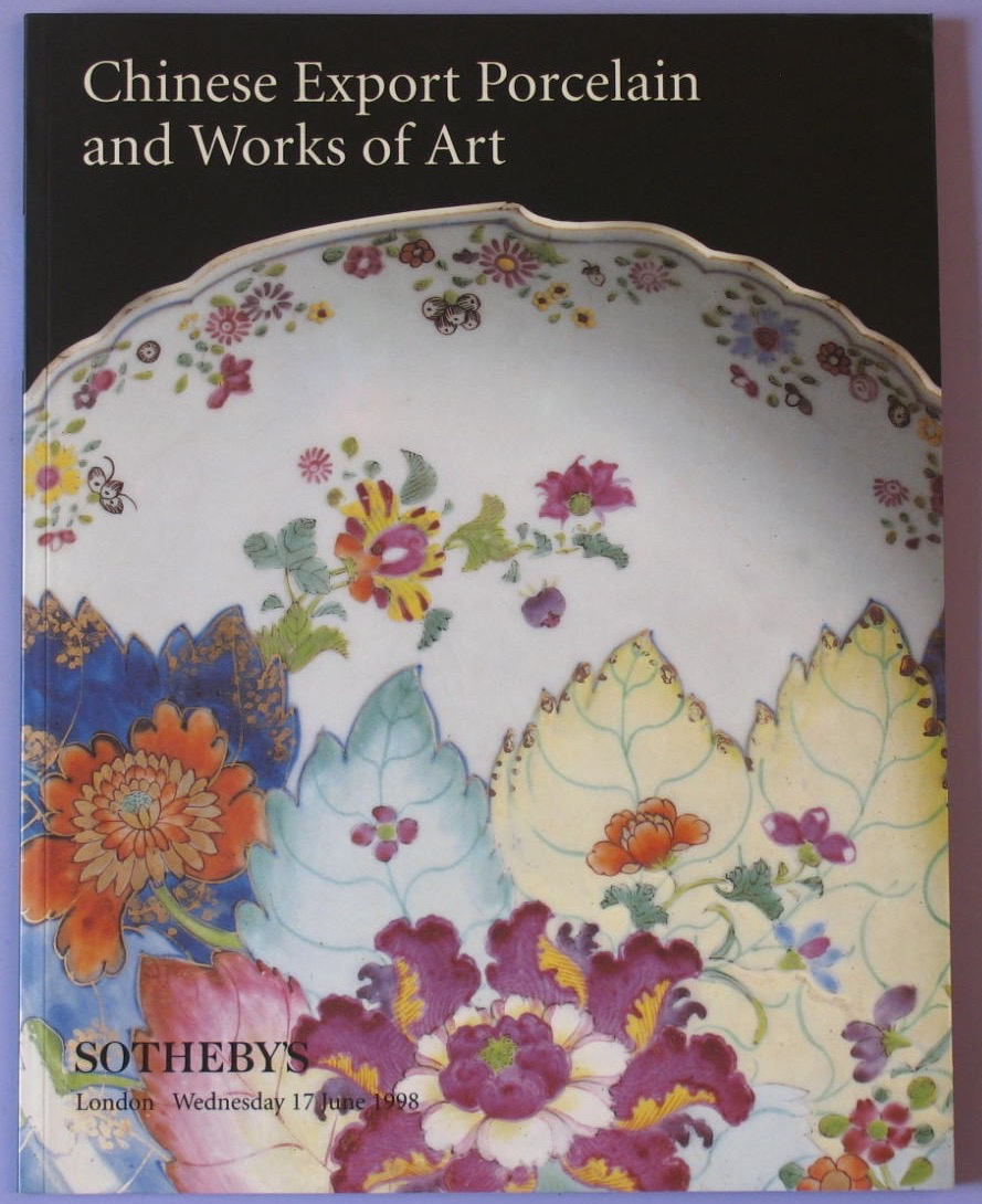 SL19980617: Bookshop: [1998] Chinese Export Porcelain and Works of Art